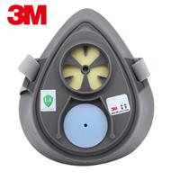 3M 3200 防護面具 工業粉塵煤礦打磨電焊霧霾防塵面具 面罩主體 1個 定做