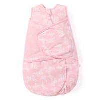 米樂魚 嬰兒睡袋新生兒童寶寶秋冬抱被夾棉防踢被荷蘭蝴蝶66碼