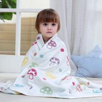嬰兒六層紗布蓋毯浴巾春夏季兒童被