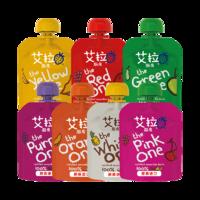艾拉廚房 嬰兒皇牌彩虹系列水果混合果泥 90g *10件