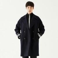 反季特卖:GXG 174126009598 男士羊毛混纺大衣 *2件