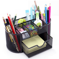 京惠思创 JH8128 笔筒多功能创意时尚办公用品学生文具桌面简约个性收纳盒笔桶