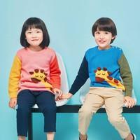 兒童長頸鹿針織套頭衫 綠色 120 *2件+湊單品