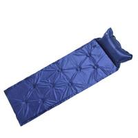 京東PLUS會員 : 狼行者 自動充氣墊 戶外防潮墊 單人氣墊 藍色九點款 *4件