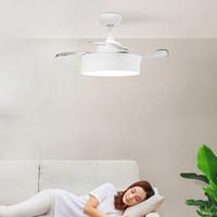 Yeelight逸揚智能風扇吊燈小米A室簡約帶LED風扇隱形吊扇燈