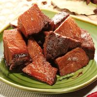 善味閣 筋頭巴腦牛肉粒牛肉片休閑零食特色小吃10袋