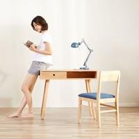 8H Sunny摩登全實木書桌椅(書桌椅套裝)