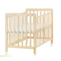 有品米粉節 : 貝影隨行 多功能嬰兒床 原木色