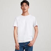 有品米粉節、移動專享 : 棉花史密斯 男士短袖T恤 3件裝
