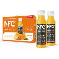 農夫山泉 NFC果汁飲料 100%NFC橙汁300ml*10瓶*4件 + 100%NFC新疆蘋果汁 300ml*24瓶