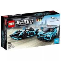 苏宁SUPER会员:LEGO 乐高 赛车系列 76898 E级方程式 GEN2和捷豹 *2件
