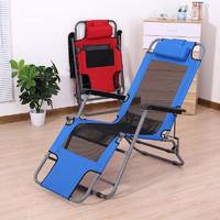 躺椅折疊椅午休椅夏季辦公室休閑椅子老人椅折收沙灘椅午睡椅靠背
