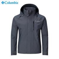 哥倫比亞(Columbia)男士防水透氣單層沖鋒衣 WE1284