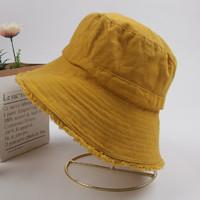 日系遮陽漁夫帽ins網紅款帽子