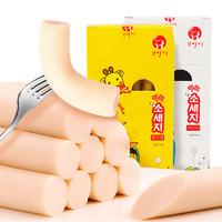 高邦喜韓國進口魚肉腸450g兒童健康小零食無添加孕婦嬰幼兒鱈魚腸