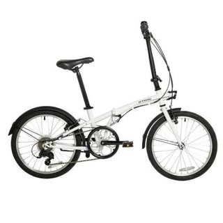 DECATHLON 迪卡侬 20寸折叠自行车超轻便携成年单车小型变速男女折叠车OVBIC