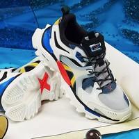 XTEP 特步 男鞋山海系列运动鞋夏季男士休闲鞋透气2020新款老爹鞋子潮鞋