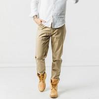 有品米粉節 : BEENGO 精梳棉彈力休閑褲