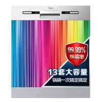 手慢無 : Midea 美的 WQP12-5301A-CN(J1)嵌入式洗碗機 13套