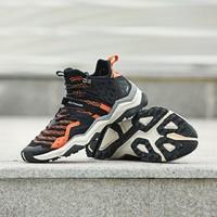 rax男透氣飛織網布防滑登山鞋