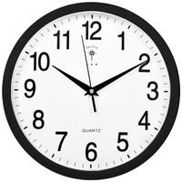 北極星 掛鐘時尚創意客廳鐘表 靜音簡約石英鐘11英寸 2842 黑色