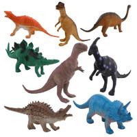 兒童恐龍模型玩具 袋裝8只裝