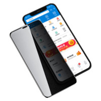 哲貓 iPhone11pro max 透明防窺鋼化膜