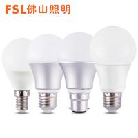 FSL 佛山照明 E27螺口LED燈泡 3W 2只裝