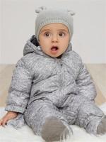 Gap 蓋璞 嬰兒 保暖連帽一件式連體羽絨風雪服 *2件