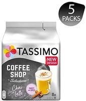 Tassimo Chai Latte拿鐵,5 包 茶味特色 T Discs