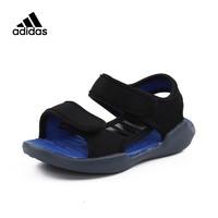 阿迪達斯兒童童鞋adidas kids夏季男女小童魔術貼沙灘涼鞋DB1782