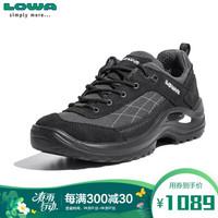 LOWA 德國 徒步鞋作戰靴戶外防水登山鞋TAURUS GTX進口女款低幫 L320554 黑色 37 *2件