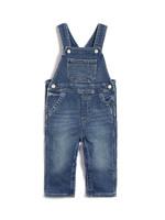 Gap 蓋璞 嬰兒 基本款針織襯里牛仔背帶褲