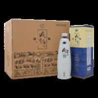 咸亨 紹興黃酒 糯米酒 雕王 十八年陳釀 半甜型白瓷瓶 500ml*6瓶 整箱裝