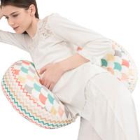 孕婦護腰托腹側睡U型枕
