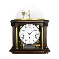 赫姆勒(Hermle)德國原裝復古經典優雅月相星球座鐘臺鐘22948