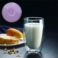 AlfunBel 艾芳貝兒 高硼硅耐熱雙層玻璃杯 450ml *2件