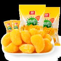 雅客芒果糖1000g軟糖水果糖零食果汁QQ糖 折合11.9元/斤 全京東同款最低價 *2件