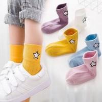 兒童襪子春秋冬季純棉男童女童襪子