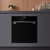 圈廚8套互聯網智能洗碗機 臺嵌兩用