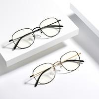 檸檬 金屬休閑系列 可配度數 雙重防藍光眼鏡