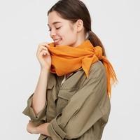 UNIQLO 優衣庫 422351 棉麻圍巾