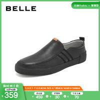BELLE/百麗休閑鞋2019春季商場同款牛皮革男皮鞋5YC02AM9O