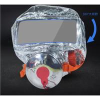邁多多消防面具防火防煙口罩酒店家用火災逃生面具面罩呼吸器 消防演習用,不過消防