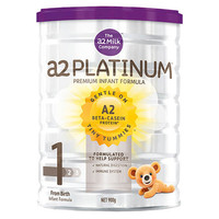 A2 白金系列 嬰兒配方奶粉(1段)0-6個月 900g