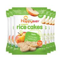 【直營】HappyBaby禧貝有機蘋果米餅40g/袋*6