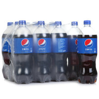 限地区、京东PLUS会员 :  Pepsi 百事可乐 汽水碳酸饮料 1L*12瓶