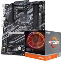 技嘉(GIGABYTE)X570 UD 主板   AMD 銳龍 9 3900X 板U套裝/主板 CPU套裝
