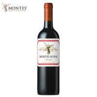 MONTES 蒙特斯 歐法系列 馬爾貝克紅葡萄酒 750ml單支裝 *2件