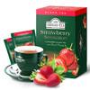 阿聯酋進口亞曼(AHMADTEA)紅茶葉袋泡茶包 草莓水果味果香紅茶盒裝20包*2g *10件